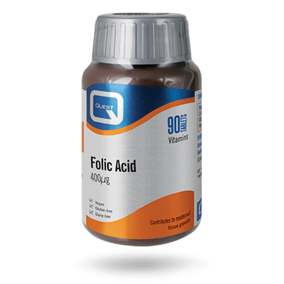 Folic Acid 400mcg – 90 TABLETS
