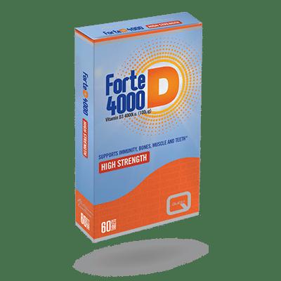 Forte D 4000 – 60 TABLETS