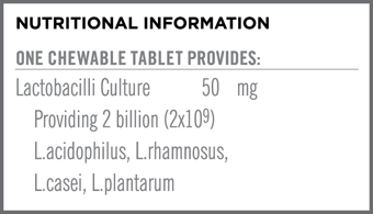 KidzBiotix Nutritional Info