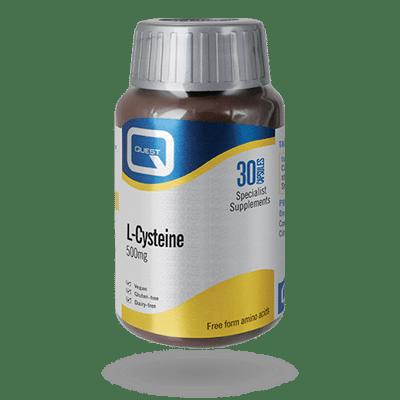 L-Cysteine 500mg 30 Capsules