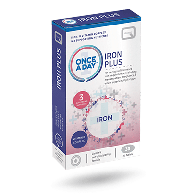 Once a Day Iron Plus – 30 TABLETS