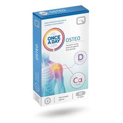 Once a Day Osteo – 30 TABLETS
