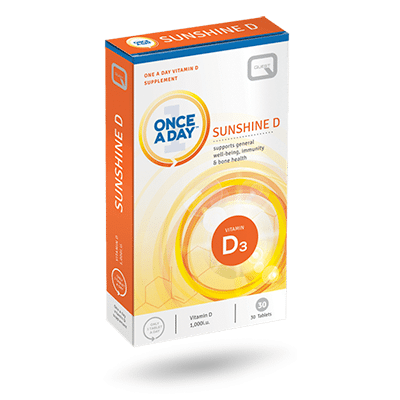 Once a Day Sunshine D – 30 TABLETS