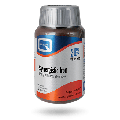 Synergistic Iron 30 Tablets