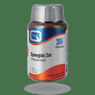 Synergistic Zinc 15mg