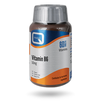 Vitamin B6 50mg – 60 TABLETS