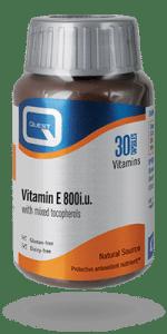 Vitamin E800iu. 30 capsules