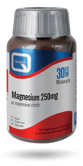 Magnesium 250mg 30 Tablets